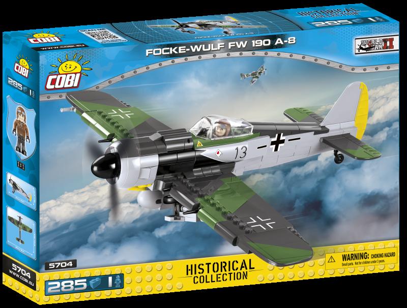 Cobi 5704 Focke Wulf FW 190 A-8 Spielzeug - Bausatz(nur noch wenige da)