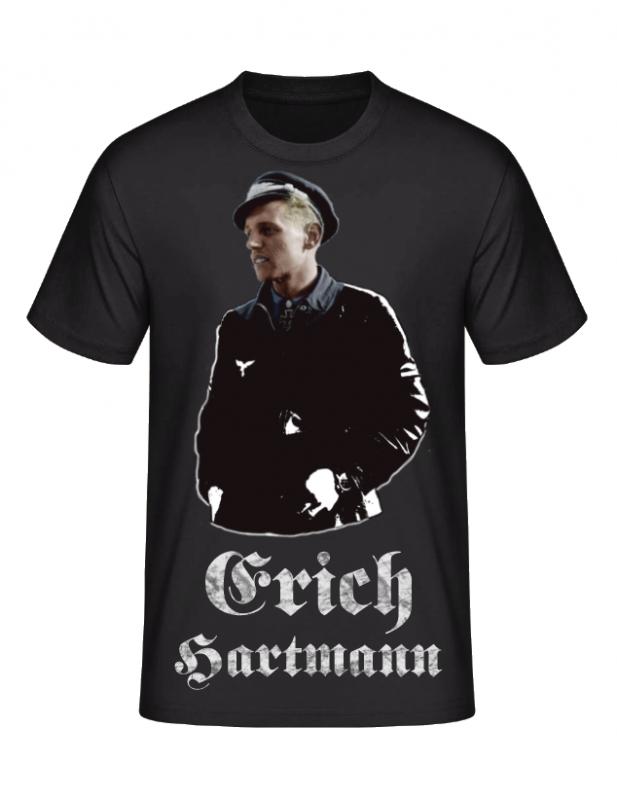 Erich Hartmann erfolgreichster Jagdflieger der Welt - T-Shirt