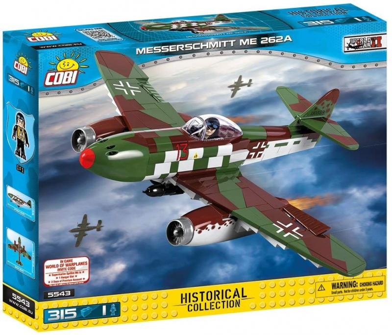 Cobi 5543 Messerschmitt Me 262 A - Spielzeug Baukasten(nur noch wenige da)