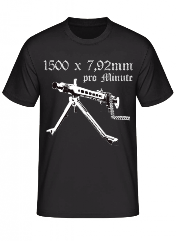 MG 42 1500 x 7,92mm pro Minute - T-Shirt