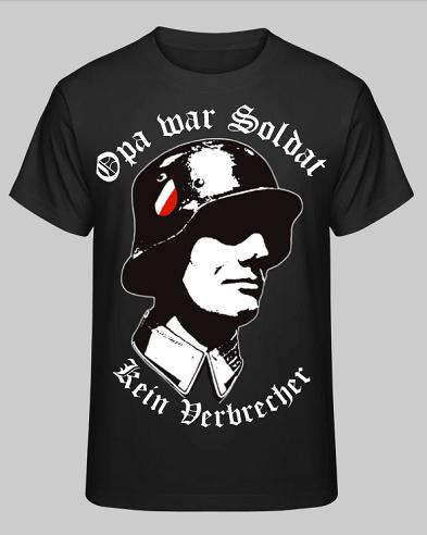 Opa war Soldat, kein Verbrecher! T-Shirt