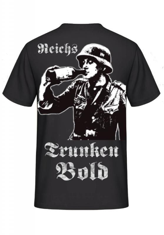 Reichstrunkenbold - T-Shirt Rückenmotiv