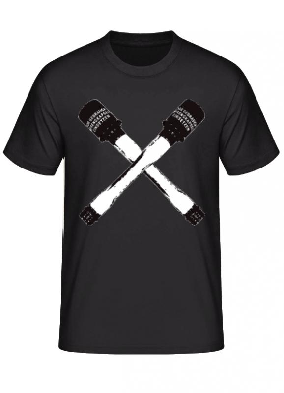 Deutsche Stielhandgranaten - T-Shirt