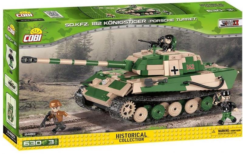 Cobi 2480A Tiger II Königstiger Bausatz (Nur noch wenige da)