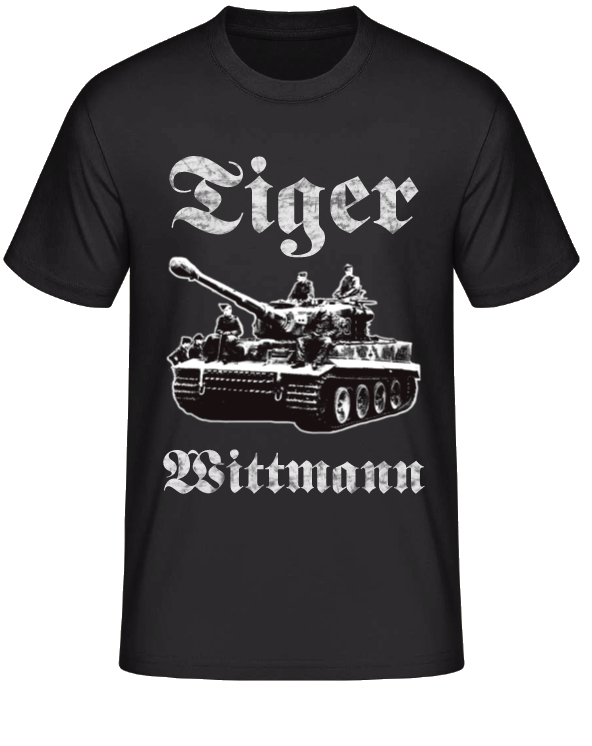 Tiger Panzer Michael Wittmann - T-Shirt