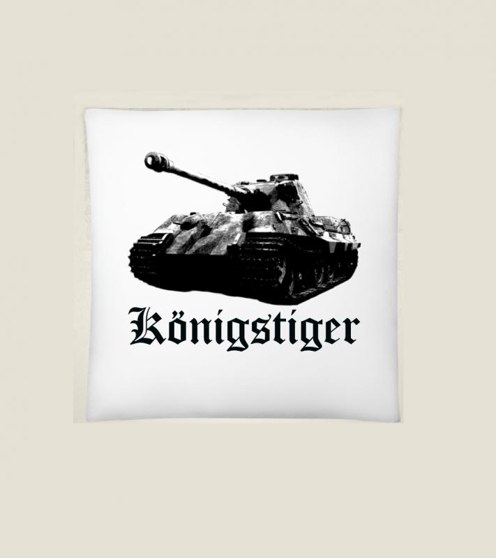 Königstiger - 40x40cm Kissen