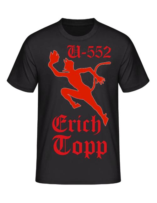 U-552 Erich Topp - T-Shirt