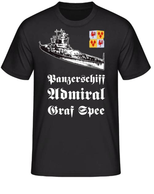 Panzerschiff Admiral Graf Spee T-Shirt II