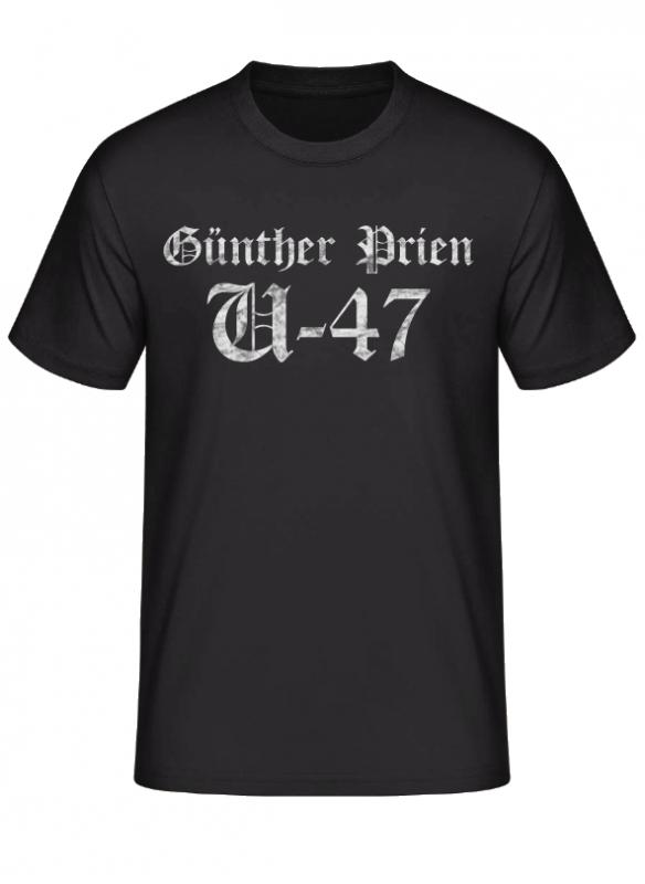 Günther Prien U-47 - T-Shirt
