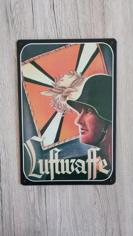 Luftwaffe - Blechschild