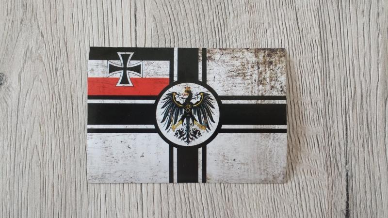 Reichskriegsflagge - Aufkleber II