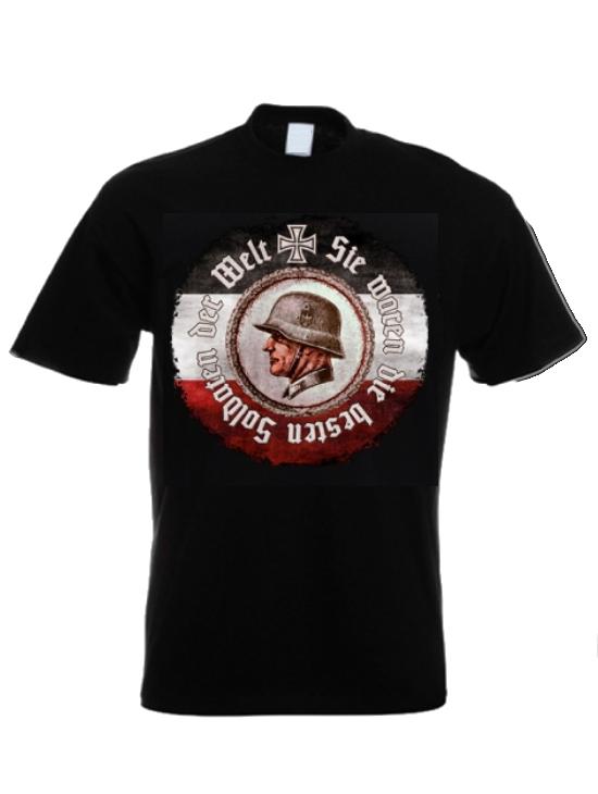 Sie waren die besten Soldaten der Welt - T-Shirt schwarz