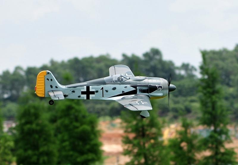 Focke Wulf FW-190 A - RC Modell 1:9