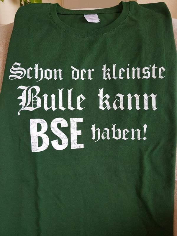 Schon der kleinste Bulle kann BSE haben !