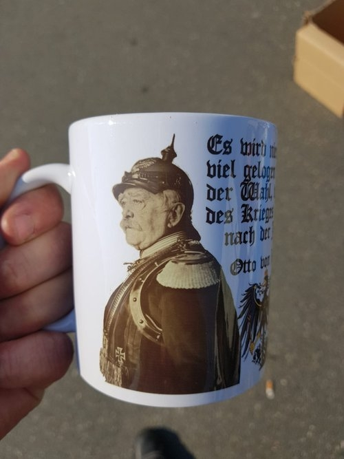 Otto von Bismarck - Tasse