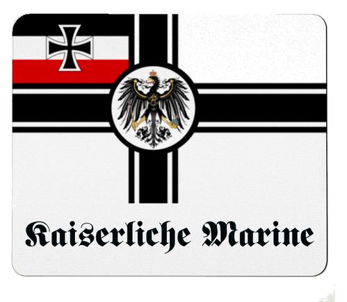 Reichskriegsflagge Deutsches Reich Kaiserliche Marine - Mauspad/Untersetzer
