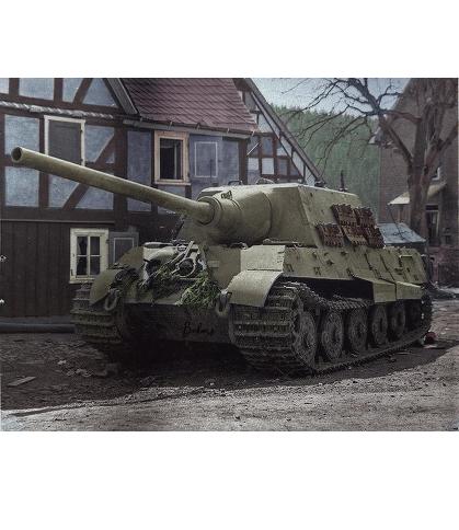 Jagdtiger - Kunstdruck - Poster - 60,0 x 45,0 cm