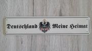 Deutschland, meine Heimat - Blechschild