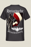 Heimwehr Brandenburg Rückendruck - T-Shirt