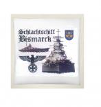 Schlachtschiff Bismarck IV - Kissen