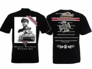 Panzer As Michael Wittmann - T-Shirt schwarz