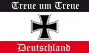 Treue um Treue Deutschland - Fahne/Flagge 150x90 cm