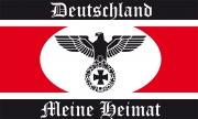 Deutschland - Meine Heimat II - Fahne/Flagge 150x90 cm