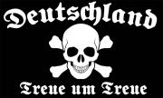 Treue um Treue Deutschland II - Fahne/Flagge 150x90 cm