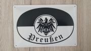 Preußen - Blechschild