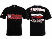 Division Sachsen(Druckwunsch möglich) - T-Shirt schwarz