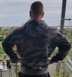 KAPUZENJACKE Wehrmacht Splittertarn Dunkel