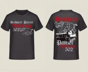 Schwere Panzerabteilung 502 - T-Shirt