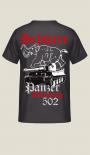 Schwere Panzerabteilung 502 - T-Shirt Rückendruck
