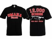 MG 42 - 12.000 Schuss sind nicht genug! - T-Shirt schwarz
