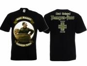 Kurt Knispel - Der schwarze Baron - Panzerass - T-Shirt schwarz