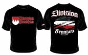 Franken Division - Treu der Fahne - T-Shirt schwarz