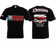 Bayern(Druckwunsch möglich) Division - T-Shirt schwarz