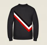 Schwarz - Weiss - Rot - Pullover