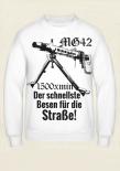 MG 42 - Der schnellste Besen für die Straße! - Pullover