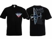 Asse der Luft - T-Shirt schwarz