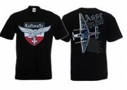 Asse der Luft - T-Shirt schwarz 2