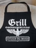 Grill Oberkommando Division BBQ Smoker - Grillschürze/Kochschürze