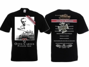 Panzer-As Otto Carius - T-Shirt schwarz