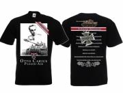 Otto Carius - T-Shirt schwarz