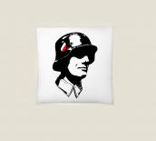 Wehrmacht Soldat - Kissen