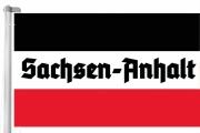 Sachsen-Anhalt - Schwarz/Weiss/Rot - Fahne 150x90 cm