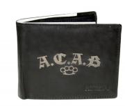 ACAB - Geldbörse aus Rindleder