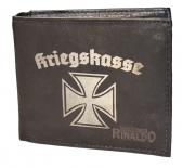 Kriegskasse Eisernes Kreuz - Geldbörse aus Rindleder