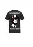 Wehrmacht wieder mit? WH SOLDAT - T-Shirt Rückendruck