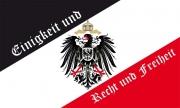 Einigkeit und Recht und Freiheit - Fahne 150x90 cm